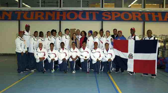 Encuentro con los representantes y las representantes de la República Dominicana al Mundial de Sóftbol Femenino 2014