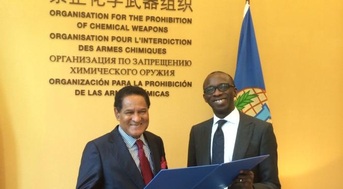 Ratificación del Acuerdo de Privilegios e Inmunidades entre la República Dominicana y la OPAQ