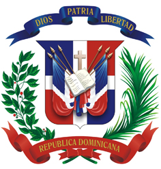Escudo Dominicano-2cm ancho