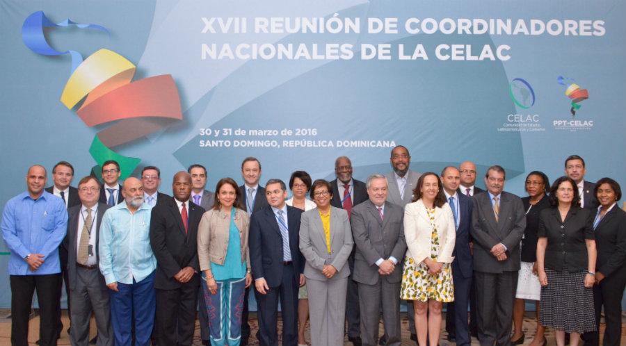 Continua desarrollándose en el país, la XVII Reunión de Coordinadores Nacionales de la CELAC
