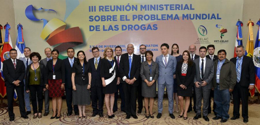 En III Reunión Ministerial, países miembros de la CELAC acuerdan lineamientos generales para la región sobre el problema mundial de las drogas