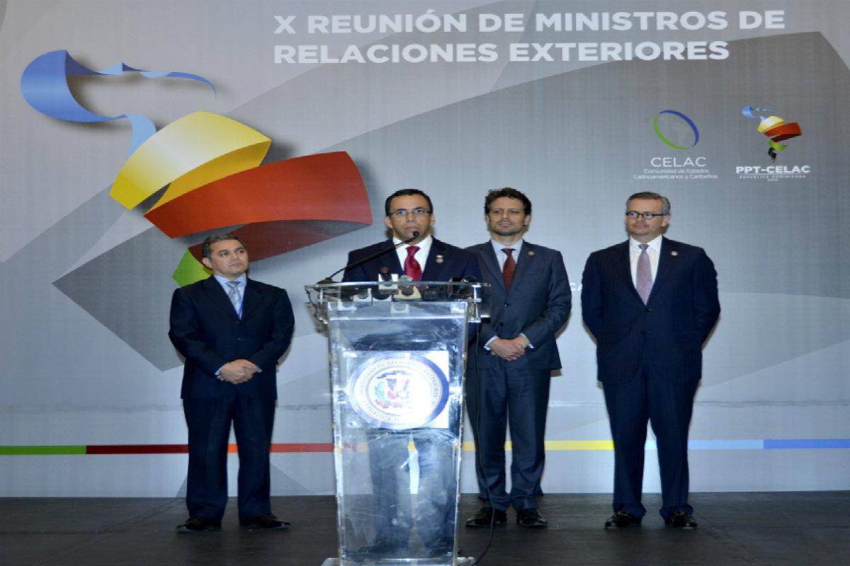 X Reunión de ministros de Relaciones Exteriores acuerda fortalecer espacio para elevar proceso de integración y enfrentar unidos problemas comunes que afectan a la región