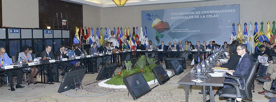 Con participación de 30 países miembros de la CELAC, inicia la XVII Reunión de Coordinadores Nacionales