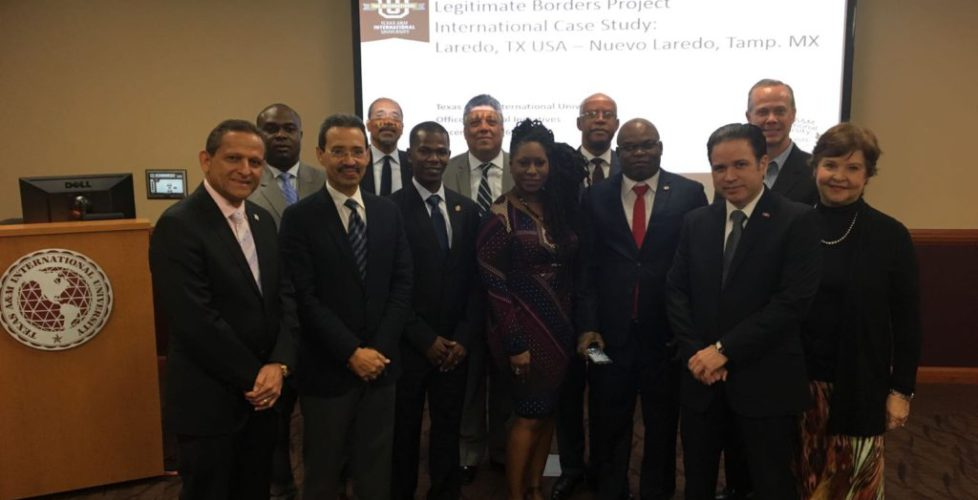 Cancillería Dominicana participa en el Programa de Desarrollo de Fronteras organizado por la Embajada de los Estados Unidos.